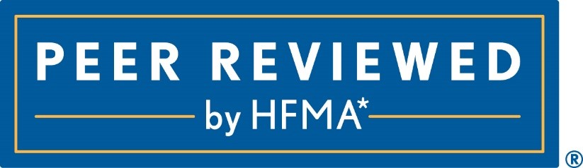 *HFMA staff and volunteers determined that these healthcare business solutions have met specific criteria developed under the HFMA Peer Review process. HFMA does not endorse or guarantee the use of these healthcare business solutions or that any results will be obtained.